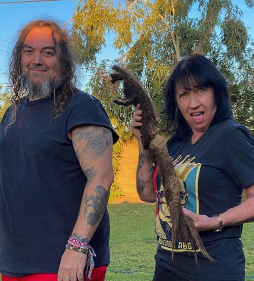 Max Cavalera cut dreadlocks